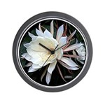 Epiphyte Cactus Flower Wall Clock