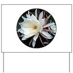 Epiphyte Cactus Flower Yard Sign