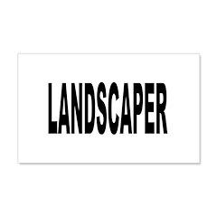 Landscaper 22x14 Wall Peel