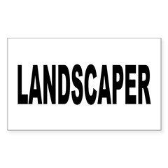 Landscaper Decal