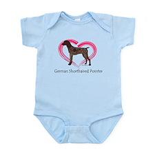 Heart My GSP Infant Bodysuit