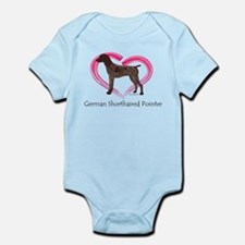 Heart My GSP Infant Bodysuit