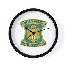DUI-U.S. Army Marksmanship Unit (AMU) Wall Clock