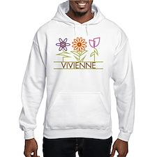 Vivienne with cute flowers Hoodie