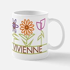 Vivienne with cute flowers Mug