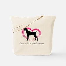 Heart My GSP Tote Bag
