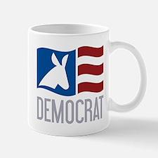 Democrat Donkey Flag Mug