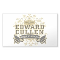 Property of Edward Cullen Decal
