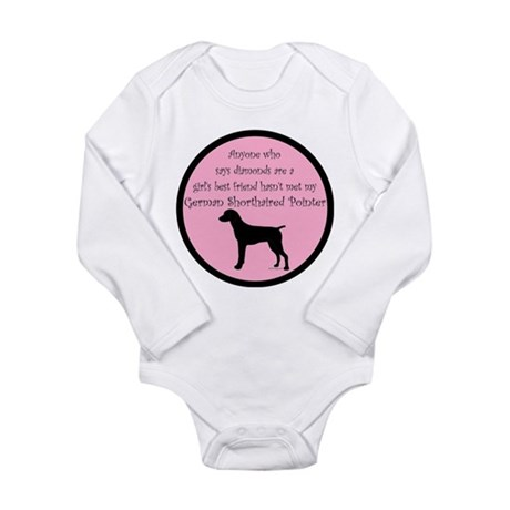 GSP - Girls Best Friend Long Sleeve Infant Bodysui