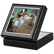 Degas - Dance Class Keepsake Box