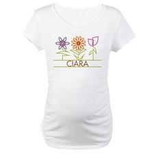 Ciara with cute flowers Shirt