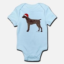 GSP Santa Infant Bodysuit