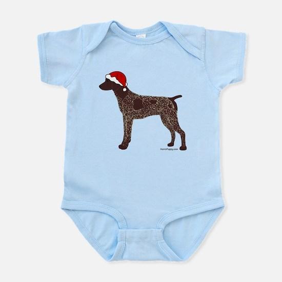 GSP Santa Infant Bodysuit
