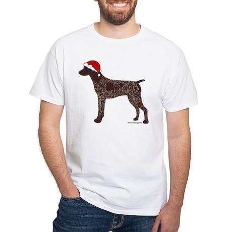 GSP Santa White T-Shirt