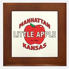 Little Apple Framed Tile