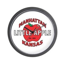 Little Apple Wall Clock