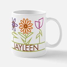 Jayleen with cute flowers Mug