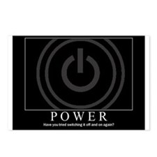POWER IT Crowd Motivator Postcards (Package of 8)