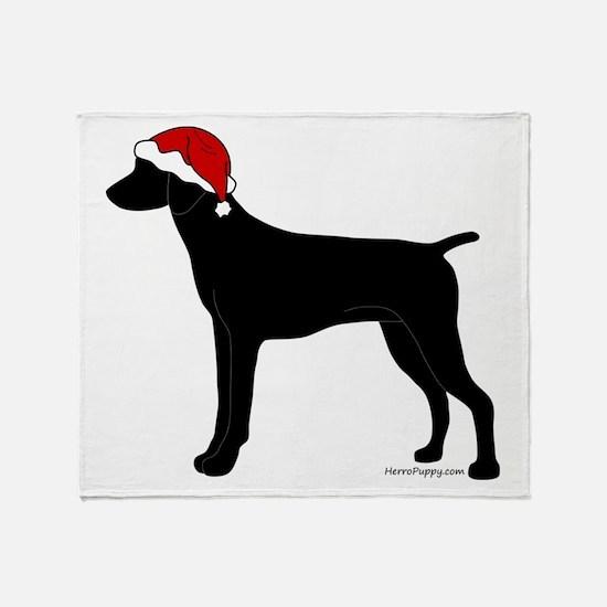 GSP Santa Throw Blanket