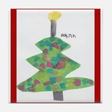 Bekah's Christmas Tree Tile Coaster