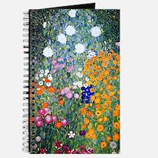 Klimt - Flower Garden Journal