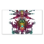 pandemonium Sticker (Rectangle 50 pk)