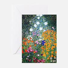 Klimt - Flower Garden Greeting Cards (Pk of 20)