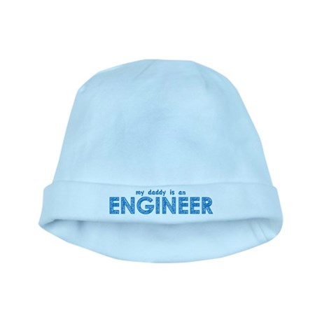 My Daddy is an Engineer baby hat