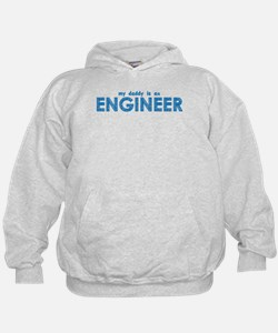 My Daddy is an Engineer Hoodie