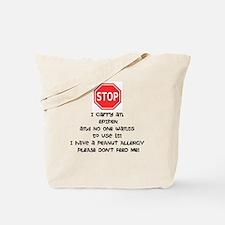 Epipen Tote Bag