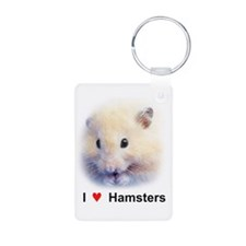 Hamsters; Syrian Hamster Keychains