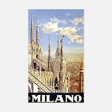 Milano Italia Sticker (Rectangle)