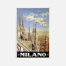 Milano Italia Rectangle Magnet (10 pack)