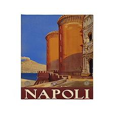 Napoli Italia Throw Blanket