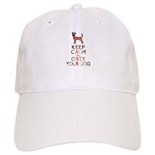"""Keep Calm and Obey Your Dog"" Baseball Cap"
