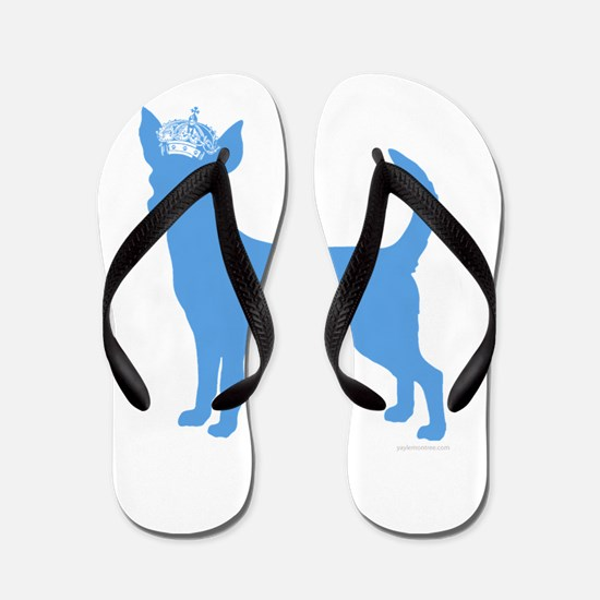 """Keep Calm and Obey Your Dog"" Flip Flops"