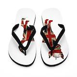 Crown chihuahua Flip Flops
