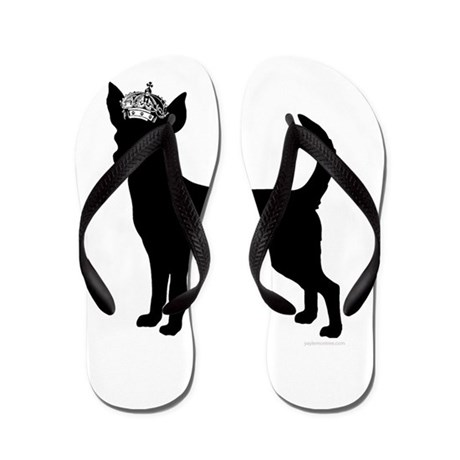 """""""Keep Calm and Obey Your Dog"""" Flip Flops"""