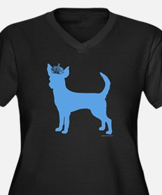 """Keep Calm and Obey Your Dog"" Women's Plus Size V-"
