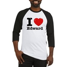 I love Edward Baseball Jersey