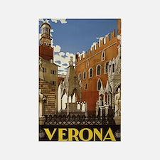 Verona Italia Rectangle Magnet