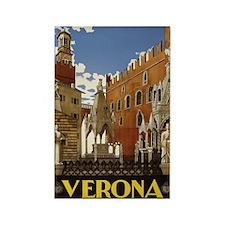 Verona Italia Rectangle Magnet (10 pack)