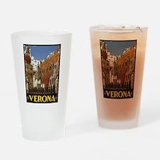 Verona Italia Drinking Glass