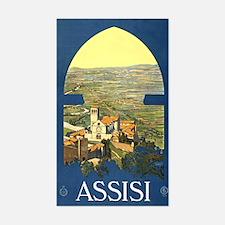 Assisi Italia Decal