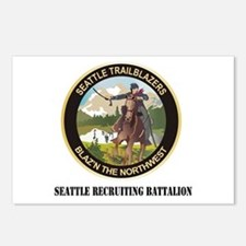 DUI - Seattle Recruiting Battalion with Text Postc