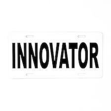 Innovator Aluminum License Plate