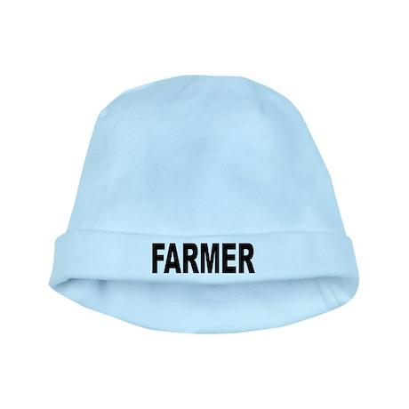 Farmer baby hat