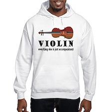 Violin Humor Music Hoodie