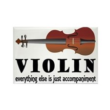 Violin Humor Music Rectangle Magnet