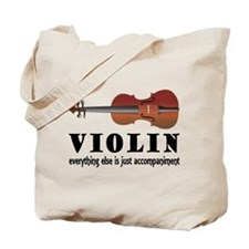 Violin Humor Music Tote Bag